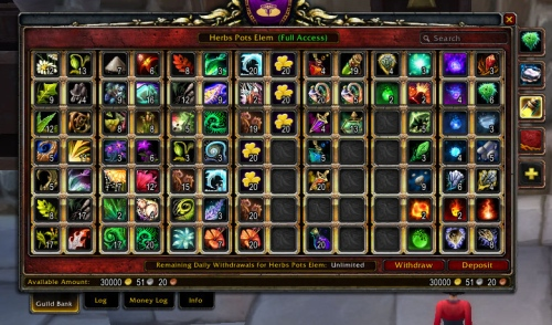 Ambermist's Messy Guild Bank -- Tab 3